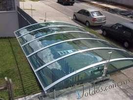 Marquesinas en policarbonato mantenimientos instalaciones nuevas