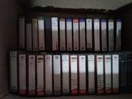 cassettes 8 mm usados para videocamaras