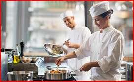 chef profecional o cocinero con experincia en comida rapida experimental