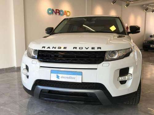 Land Rover Range Rover 2.0 T Evoque Coupe Dynamic Pl 2013 0