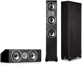 Polk 3 parlantes bafles columnas.jbl klipsch kef altec boston technics marantz focal sansui technics Yamaha Bose