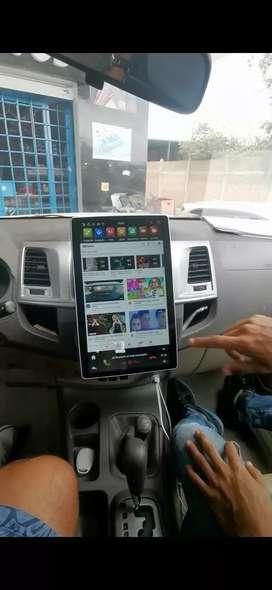 Vendo pantalla tesla Android universal 12.1 pulgadas