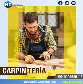 Carpintería - Anaqueles de cocina - closets - otros