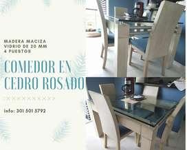 Comedor en Cedro Rosado .