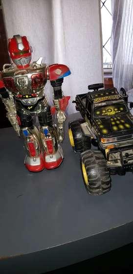 Camioneta 4x4 y Robor