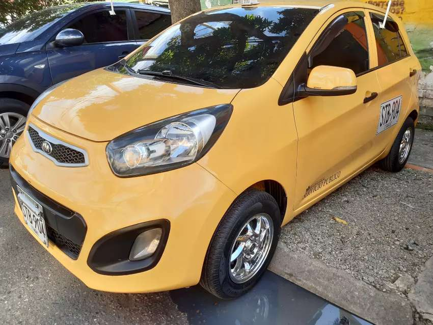 Taxi kia picanto ion 2014 individual Itagüi 0