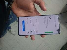 vendo o cambio Samsung S10 plus tornasol de 128g  libre para cualquier operador  exelente estado