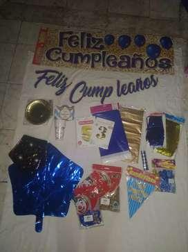Kits de decoración para fiestas y eventos