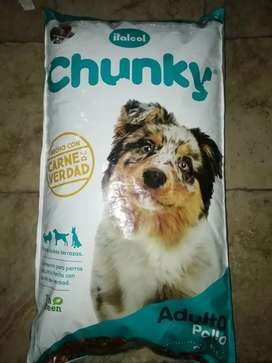 Chunky adulto pollo 25kg