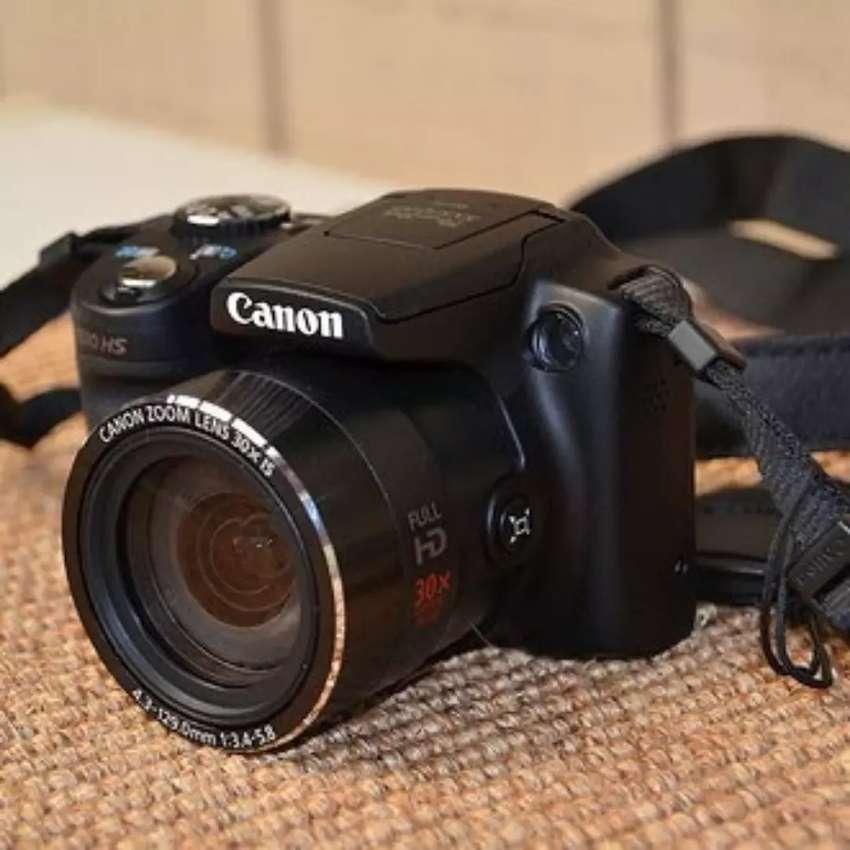 Camara Digital Semi Profesional Canon Sx510 Hs Zoom 30x Wifi 0