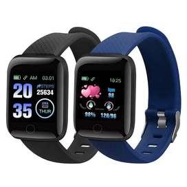 Reloj Smartwach 116 Plus Inteligente Ritmo Cardiaco Oximetro deportes