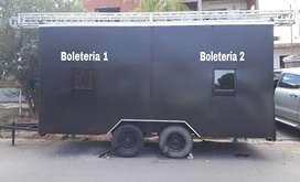 Alquiler Boleteria