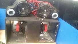 Vendo  caja de audio