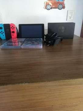 Nintendo Swich!!!incluye Juego!!