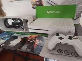 Xbox one s 500gb completamente nuevo + juegos a domicilio