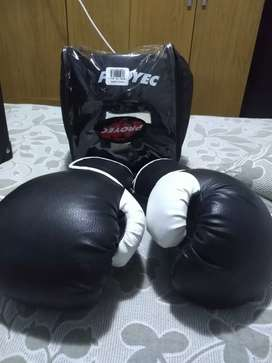 Vendo kit de boxeo/kick boxing
