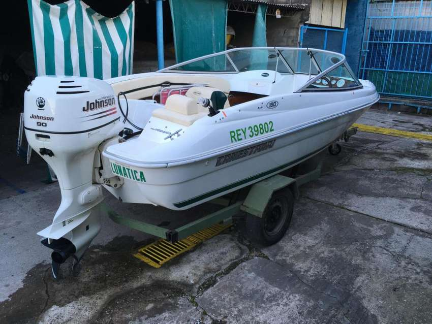 Canestrari 160 open  Johnson 90 0