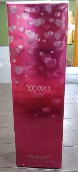 PROMO NAVIDEÑA. Perfume Xoxo Luv Para Mujer de 100 ml. 100% Original.