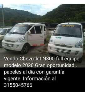 Gran oportunidad vendo Chevrolet N300