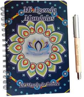 Agenda Mandalas para Colorear con el 20 de descuento