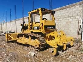 Tractor sobre oruga D6D