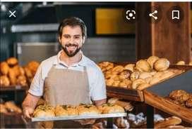 Panadero con experiencia