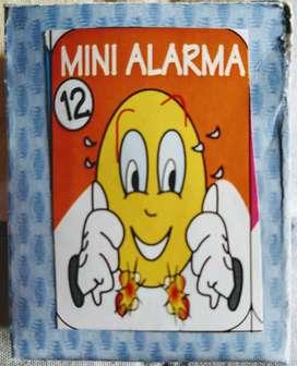 Mini Alarma explosiva. 4 cajas x 12 explosivos cada una