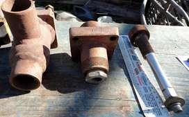 valvula para amoniaco de 1 1/4 para soldar