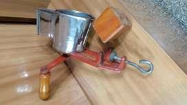 Picadora de queso y pan de acero inoxidable