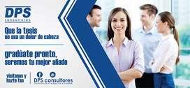 Asesor especializado para tesis y planes de negocio