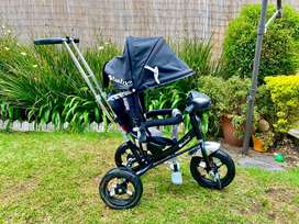 ¡Oferta! Hermoso Triciclo Paseador Coche Bebé Niño Niña