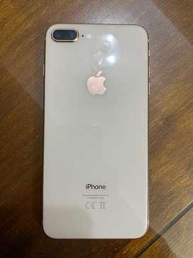 iPhone 8 Plus dorado 64GB liberado de fabrica