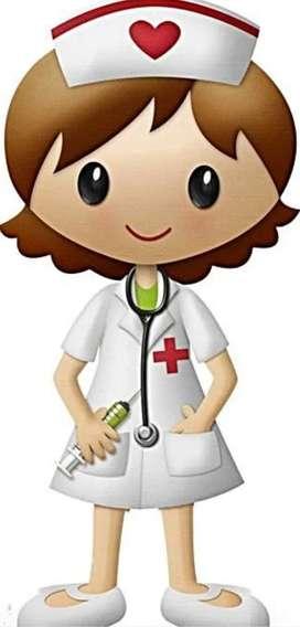 Servicio de enfermería(técnico en enfermería capacitada y con experiencia)