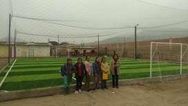 Grass Sintético Deportivo instalación de grass