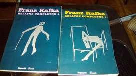 2 LIBROS DE FRANZ KAFKA