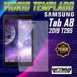 "Vidrio Cristal Screen Protector para Tablet Samsung tab A8"" 2019 t295"