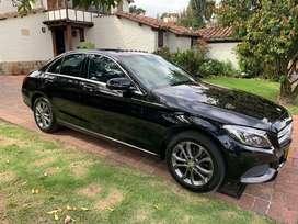 Mercedes Benz C180 2016 Negro