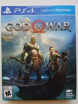 Vendo/cambio God Of War Ps4