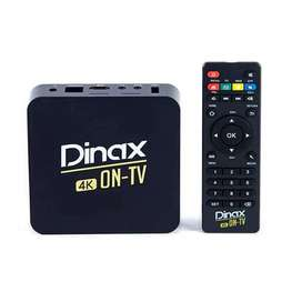 CONVERTIDOR SMART TV BOX ANDROID 4K C/CONTROL REMOTO.