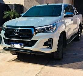 Toyota hilux SRX 4x2 automática 2020
