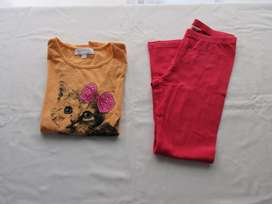 Lote de 4 prendas para nena, marcas europeas, buen estado!!!