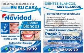 NAVIDAD CON DIENTES BLANCOS EN TU CASA - RIONEGRO Y ORIENTE