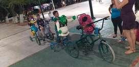 Triciclo de diversion