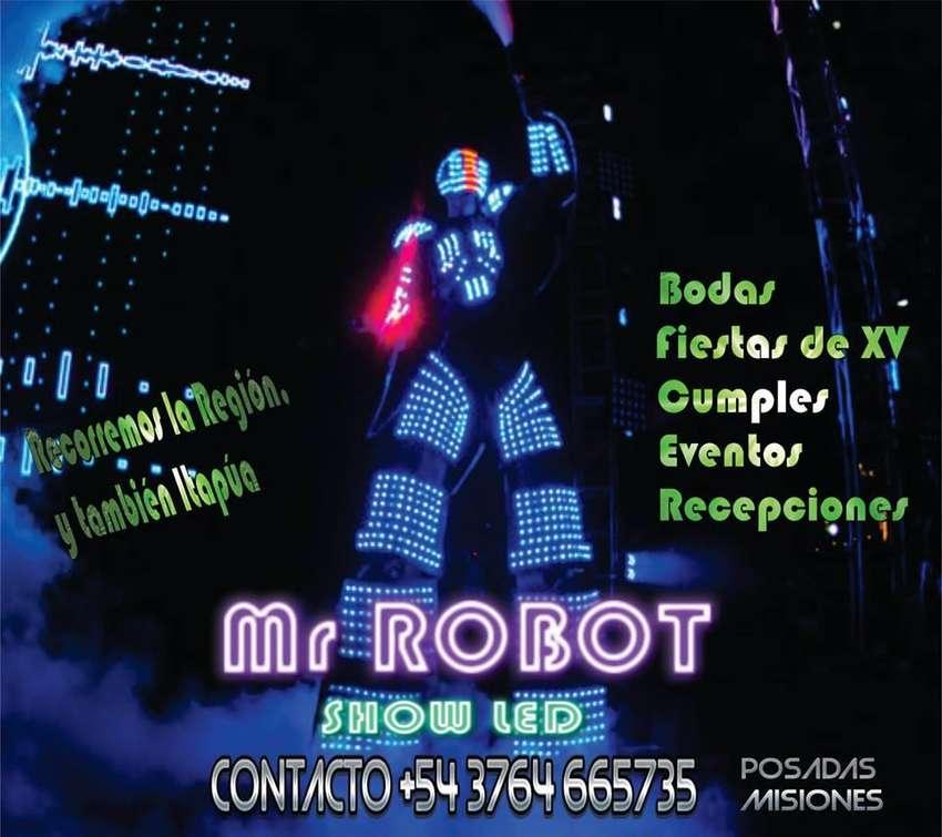 ROBOT LED !! HACE QUE TU FIESTA SEA DIFERENTE 0