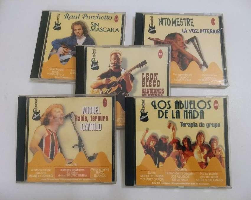 5 CDs de Rock Nacional. Colección Noticias 0
