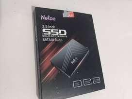 DISCOS SOLIDOS SSD 256 GB NUEVO Y SELLADO MARCA NETAC