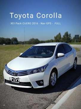 Toyota Corolla Xei Pack Cuero 2016