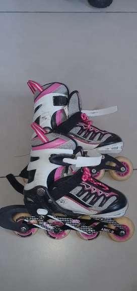 Rollers patines en línea.