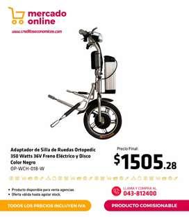 Adaptador silla de ruedas eléctrica