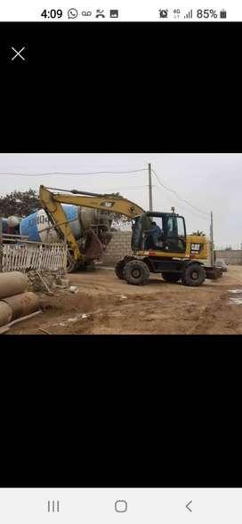 Vendo excavadora CAT M313D año 2011